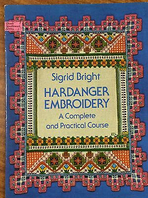 Sigrid Bright Hardanger Enbroidery A Complete adn Practical Course