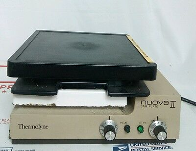 Thermolyne Nuova 2 Heated Lab Stir Plate #1b4d 1