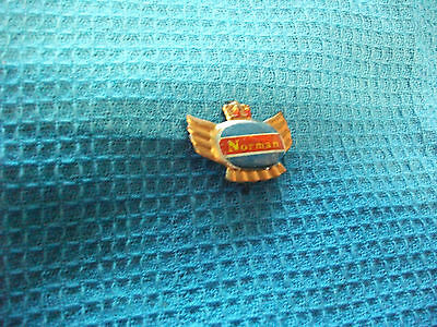 NORMAN  motorcycle very old lapel,hat pin badge
