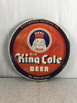 Old King Cole Beer Tray Vintage Rare Breweriana Union town PA.