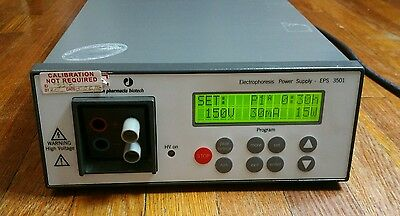 AMERSHAM PHARMACIA BIOTECH EPS 3501 ELECTROPHORESIS POWER SUPPLY Working