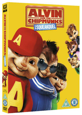 Alvin and the Chipmunks 2 - The Squeakquel DVD (2010) Jason Lee