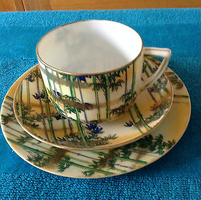 Cup,saucer, plate trio