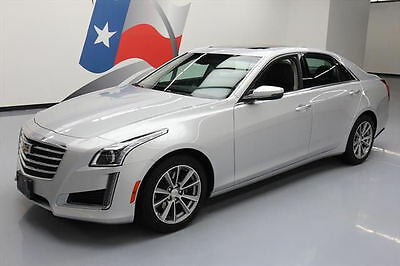 2017 Cadillac CTS  2017 CADILLAC CTS 3.6L LUX VENT LEATHER SUNROOF NAV 15K #142329 Texas Direct