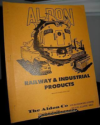 Aldon Railway & Industrial Products Brochure - 26 Pages - Fair