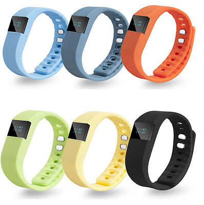 Kid Fitbit Style Pedometer -Teenager Activity Tracker Fitness Band Step Counter