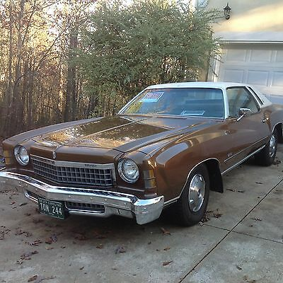 1974 Chevrolet Monte Carlo Limited edition full vinyl top 1974 Chevrolet Monte Carlo (limited edition)