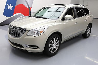 2017 Buick Enclave  2017 BUICK ENCLAVE LEATHER AWD DUAL ROOF REAR CAM 22K #122967 Texas Direct Auto