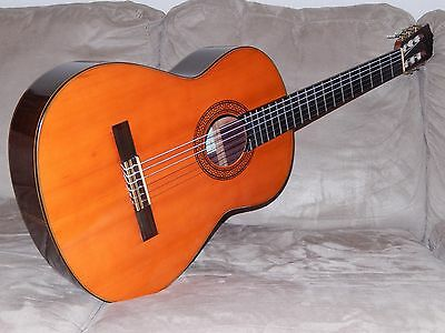Hand Made Vintage Shinano Gs250 Classical Concert Guitar In Excellent Condition