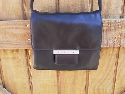 Women ~ KOLTOV Shoulder Purse Handbag ~ Faux Leather~ Black (#53)