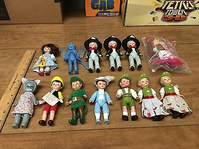 Lot Of Madame Alexander Dolls Toys Wizard Of Oz Pinocchio Peter Pan Mad Hatter