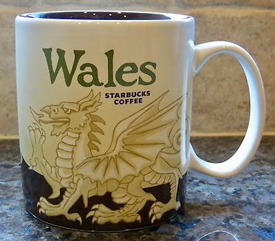 NWT Starbucks WALES UK Global Icon City Collector Series Mug with SKU