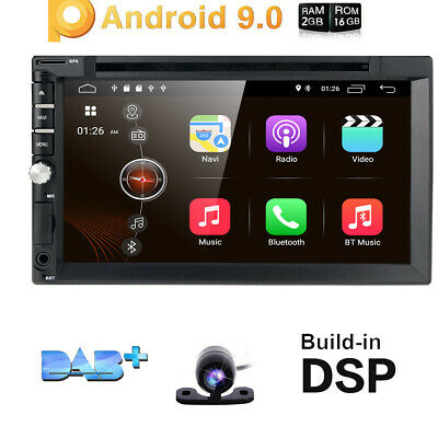"Android WiFi GPS HD 7"" Monitor 2Din Car Stereo MP5 Player Radio +Reverse Camera"
