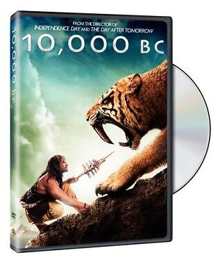 10,000 B.C. [New DVD] Full Frame, Subtitled, Widescreen, Ac-3/Dolby Digital, D