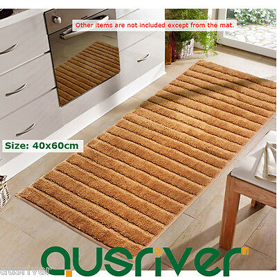 Brand New Oil-Absorbing Microfiber Kitchen Doormat Floor Mat Rug 40x60cm 64H46