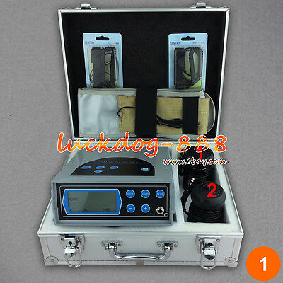 2017 Lcd Detox Ionic Foot Bath Spa Cell Cleanse + Fir Belt 2 Arrays Ce Approved