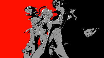 "YX02074 Persona 5 - Hot Video Game 24""x14"" Poster"