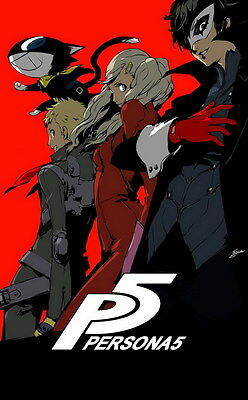 """YX02007 Persona 5 - Hot Video Game 14""""x22"""" Poster"""