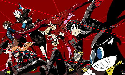 """YX01933 Persona 5 - Hot Video Game 23""""x14"""" Poster"""