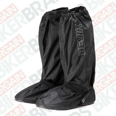 Hevik HAC214R Waterproof Motorcycle Over Boots With Integrated Sole - Black