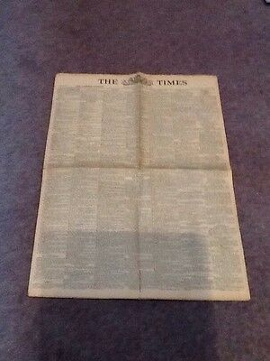 20th March 1943 - The Times Newspaper.