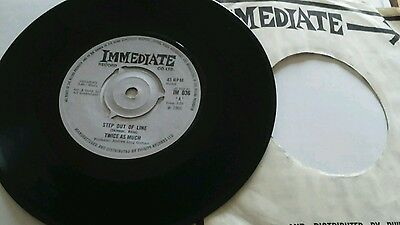 Twice As Much - Baby step out of line /simplified -  UK - Immediate - IM 036 ex.