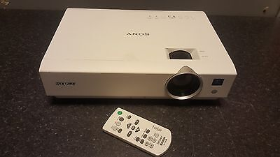 Sony VPL-DX142 Projector (23h Used)