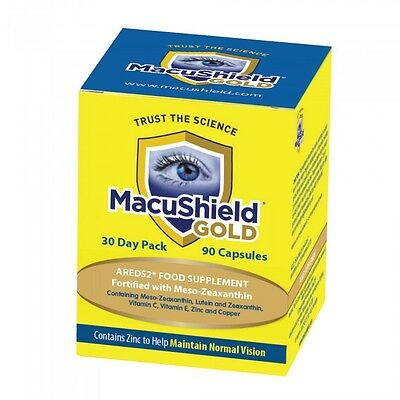 Macushield Gold 270 Capsules 3 Month Supply