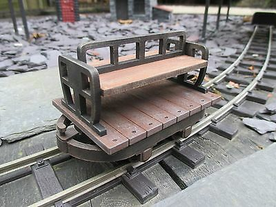 Sm32/16mm scale, Bolster Chassis 'Man Rider', narrow gauge, Complete Kit, 32mm,,