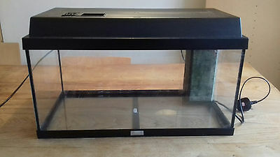 Juwel Monolux 60 Fish Tank with heater, pumps, filters and cleaning accessories