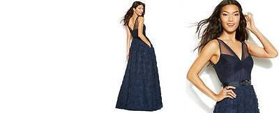 Navy Blue Evening Gown/Prom Dress Size 6