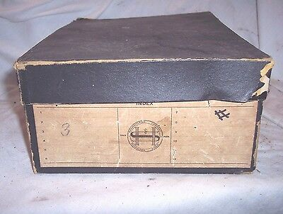 Hawthorn Sheble Phonograph Case , Holds 12 Edison Columbia Cylinder Records