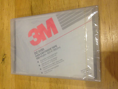 IMATION 3M DC6150 Data Backup Tape Cartridge 150 MB 150mb BRAND NEW SEALED