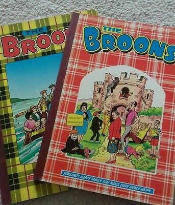2 x Broons books 1983/1985