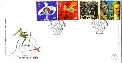 2 February 1999 Travellers Tale Royal Mail First Day Cover Coventry Shs