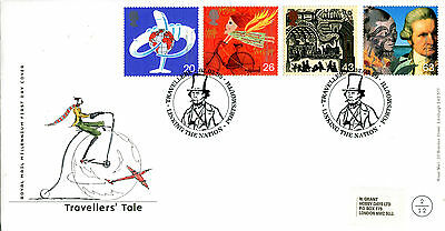 2 February 1999 Travellers Tale Royal Mail First Day Cover Portsmouth Shs