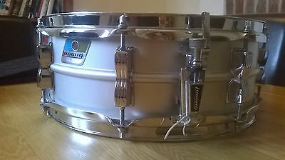 vintage ludwig acrolite snare drum bo badge late 70s classic