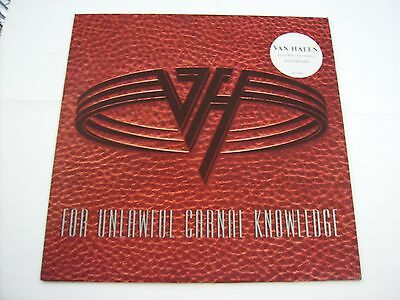 Van Halen - For Unlawful Carnal Knowledge - Lp Vinyl 1991 Excellent Condition