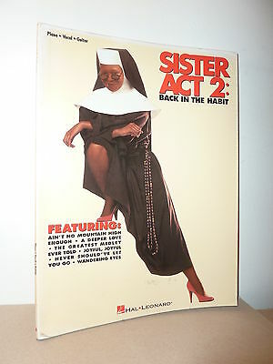 Songbook / Partition SISTER ACT 2 : BACK IN THE HABIT *  Piano Vocal Guitar