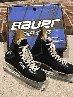 Men's Size 10 D Bauer Charger 29 Ice Hockey Skates