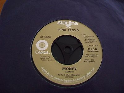 Pink Floyd --Money //any Colour Like You--Capitol Starline Records / U.s.a 1978