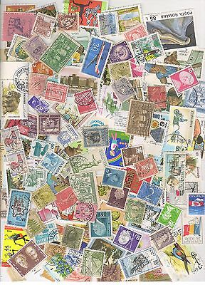 Worldwide Kiloware-Bunch of 500 Stamps Off Paper, mostly different