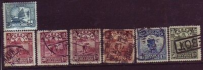 China, Japan, Siam, Indochina Stamp Collection (3 pics)