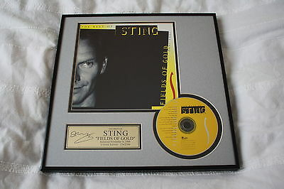 The Police / Sting - USA Inhouse Certified CD Award Fields of Gold