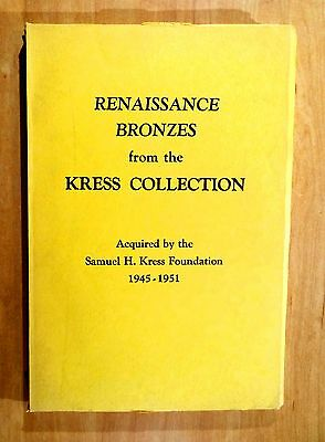 RENAISSANCE BRONZES from KRESS COLLECTION Statuettes Reliefs Medals Coins 1951
