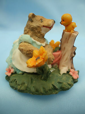 Collectable Bird and Fox Ornament