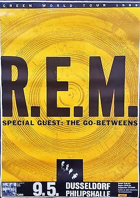 R.E.M. Green World Tour Poster from Germany - RARE - FREE Shipping*