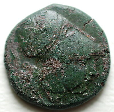CORINTH 415BC Pegasus Athena Rare  Greek Coin
