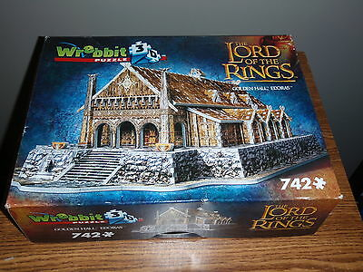 Wrebbit Lord Of The Rings Golden Hall Edoras 3D Puzzles