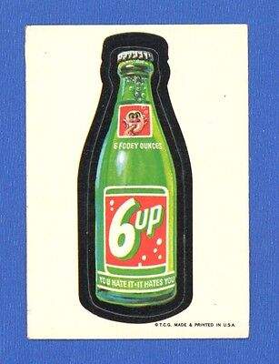 1973 Topps Original Wacky Packages 1st Series 6 Up  white back